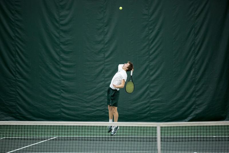MSU Men's Tennis - Toledo 1/31/15