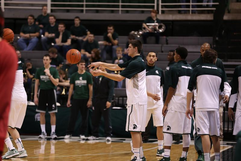 MSU Basketball - Nebraska Basketball 2/17/14